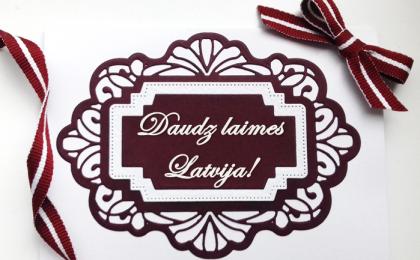 Daudz laimes Latvija