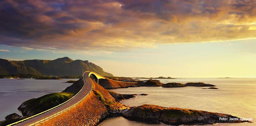 ceļo ar auto, iespaidīgi autoceļi, Norvēģija, Skandināvijas autoceļi