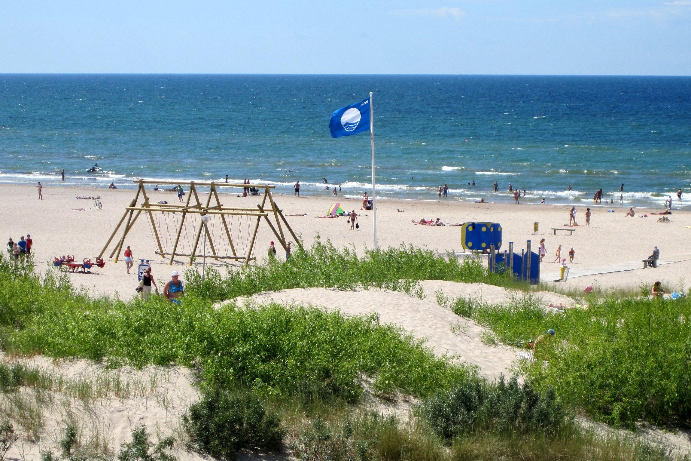 Ventspils, Pludmale, zilā karoga pludmale, kurzeme, Latvija, ekskursija, pie jūras